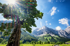 Karwendel Royalty Free Stock Photography