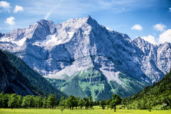 Karwendel mountains Royalty Free Stock Photography
