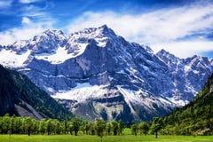 Karwendel mountains Stock Image