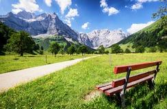Karwendel mountains Stock Images