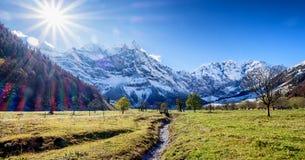 Karwendel mountains Royalty Free Stock Photo