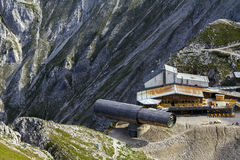 Karwendel mountains Information Center. Near Mittenwald, Germany Stock Image