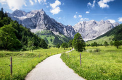 Karwendel mountains Stock Images