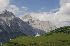 In Karwendel mountains Stock Photos