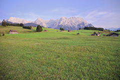 Karwendel panorama Royalty Free Stock Photo