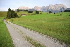 Karwendel panorama Royalty Free Stock Photo