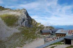 Karwendel, punto di vista Fotografie Stock