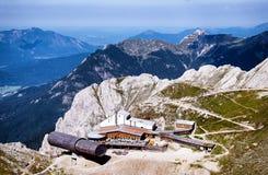 Karwendelspitze Stock Photo