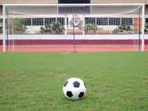 kary perspektywiczny piłki nożnej punkt Fotografia Royalty Free