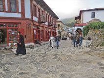 Karyes Athos-Halbinsel Griechenland Stockfotografie