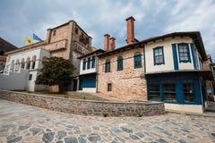 Karyes no Monte Athos fotografia de stock