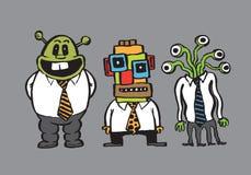 Karykatura biznesmeni Fotografia Stock