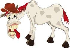 karykatura koń Fotografia Stock