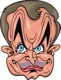 Karykatura mężczyzna Zdjęcia Royalty Free