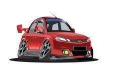 Karykatura samochód Zdjęcia Stock