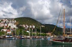 Kas Boat i Lycia Fotografering för Bildbyråer