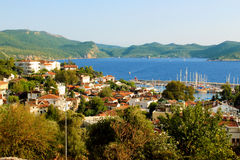 Kas City General View Royalty Free Stock Image