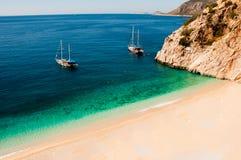 Kas da praia de Paradise fotos de stock