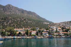 Kas and its harbour Stock Photography