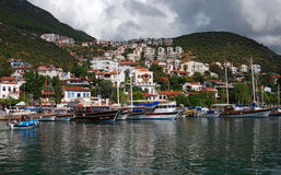 Kas Lycia Τουρκία στοκ φωτογραφία με δικαίωμα ελεύθερης χρήσης