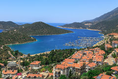 Kas Marina View Photo libre de droits