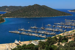 Kas Marina View Photo stock