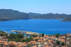 Kas Marina View Photos libres de droits
