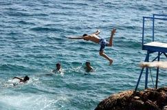 Kas no mar Mediterrâneo turco Fotos de Stock