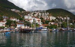 Kasa Lycia Turcja Fotografia Royalty Free