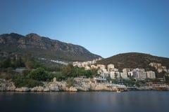 Kasa, Turcja Port i grobowiec zdjęcia stock