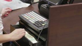 Kasa w sklepie odzieżowym zapłata zbiory wideo