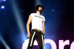 Kasabian (rock band) performance at FIB Festival Stock Image