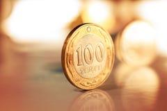 Kasachisches geld- Tenge Lizenzfreie Stockbilder