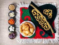 Kasachisches Lebensmittel stockfotografie