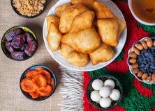 Kasachisches Lebensmittel lizenzfreies stockfoto