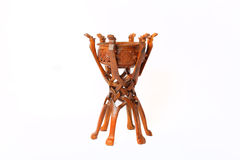 Kasachisches nationales Instrument dombra und taikazan Stockbild
