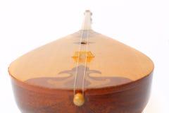 Kasachisches nationales Instrument dombra und taikazan Lizenzfreie Stockbilder