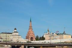 Kasan der Kreml, Komplex des Gouverneurpalastes Lizenzfreies Stockbild