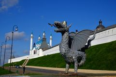 Kasan der Kreml, Kasan Rusia Lizenzfreie Stockbilder