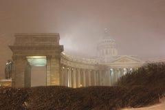 Kasan-Kathedrale, St. Petersburg, Russland Stockfotografie