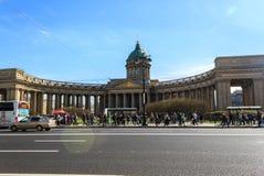 Kasan-Kathedralen-Kathedrale unserer Dame von Kasan Ein russisches Orth Stockfoto