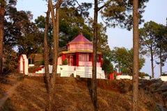 Kasar Devi寺庙阿尔莫拉,印度 免版税库存图片