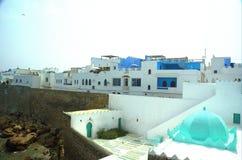 kasba de fortification d'assilah images libres de droits