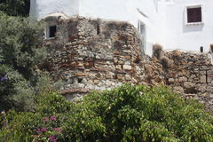 Kasba tangier city. Old wall in tangier Royalty Free Stock Image