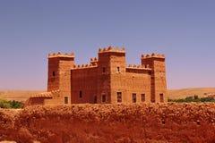 Kasbah宫殿在摩洛哥 图库摄影