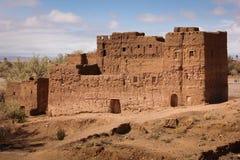 kasbah废墟 斯库拉 摩洛哥 免版税库存照片