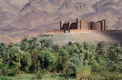kasbah摩洛哥人 库存照片