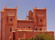 kasbah摩洛哥宫殿 免版税库存照片