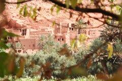 kasbah摩洛哥 图库摄影