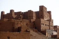 kasbah摩洛哥 库存图片